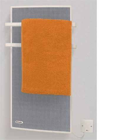 dimplex apollo electric bathroom radiator towel rail