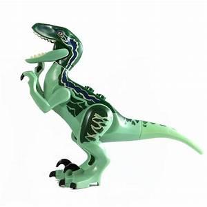 LEGO Jurassic World - Raptor Blue No Headgear (split) from ...