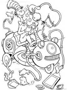 cat in the hat coloring pages free printable cat in the hat coloring pages for