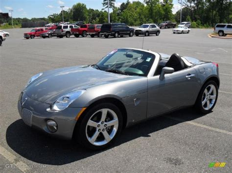 sly gray pontiac solstice roadster