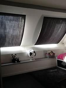 Rideaux sur cables pour fenetres de toit tapisvoilage for Tapis chambre enfant avec fenetre de toit pas cher