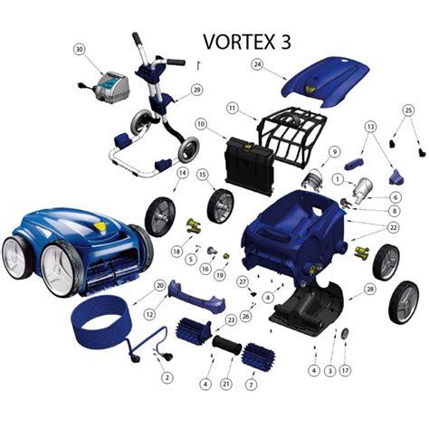 ricambi per robot zodiac vortex 3 mrpiscina it
