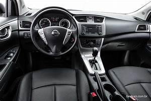 Nissan Sentra 2016 Traz S U00e9rie Unique Com Interior Bege