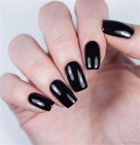 Чёрный лак для ногтей . Лучшее за месяц