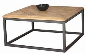 Table Basse Industrielle Carrée : ma table basse industrielle au 42 home ~ Teatrodelosmanantiales.com Idées de Décoration