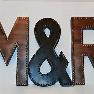 1000 ideas about metal letters on pinterest hobby lobby With hobby lobby large marquee letters