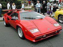 liste des automobiles lamborghini wikipedia