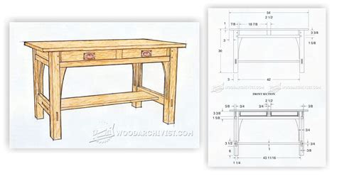 library table plans woodarchivist