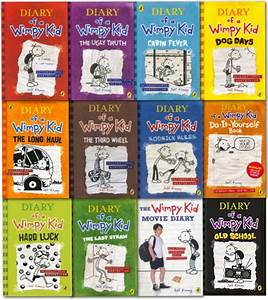 Diary Of A Wimpy Kid Collection 12 Books Set Old School
