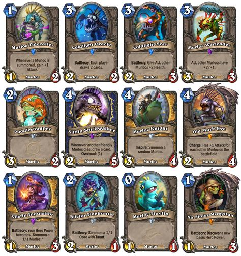 murloc deck shaman 2015 yang zhitian how to build murloc deck