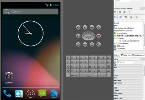 android emulator running your android application on an android emulator