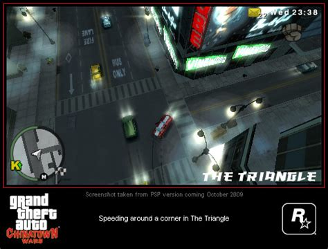 Chinatown Wars Psp Screenshots