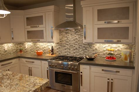 Kitchen Backsplash Ideas With Granite Countertops : Nice Kitchen Backsplash Ideas With Granite Countertops