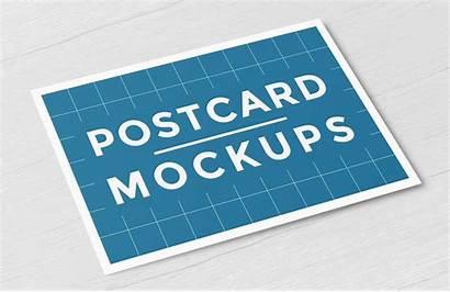 Postcard Mockups Mockup Psd Software Format Category