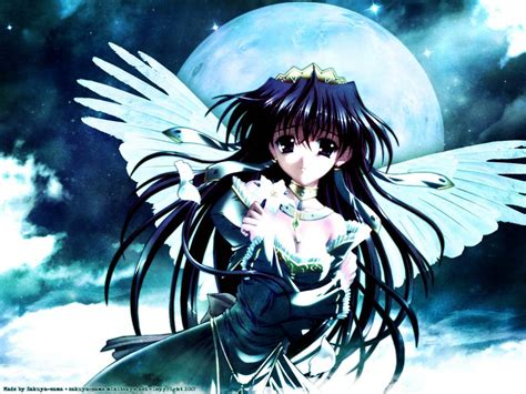 anime girls wallpaper angel imgstockscom