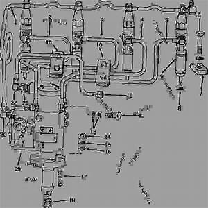 Fuel Injection Pump  Nozzles  And Fuel Lines  Engine