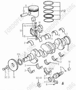 Pinto Ohc Engines Parts List  B1 50  Pistons