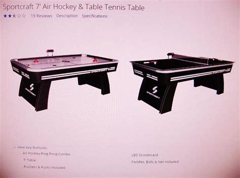 sportcraft hockey table espotted
