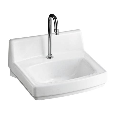 bathroom sink drain home depot kohler greenwich wall mount vitreous china bathroom sink