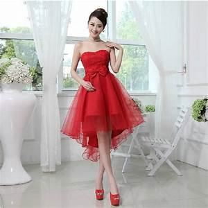 short red wedding dress sang maestro With short red wedding dresses