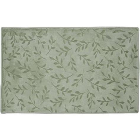 mint green bath rugs home dynamix spa mint green 20 in x 30 in microfiber