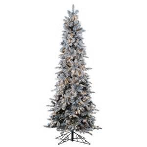 Skinny Pre Lit Christmas Tree by 301 Moved Permanently
