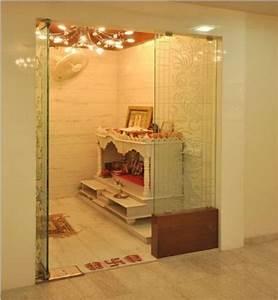 Pooja Room Glass Door Designs, Images, Pooja Room Doors in