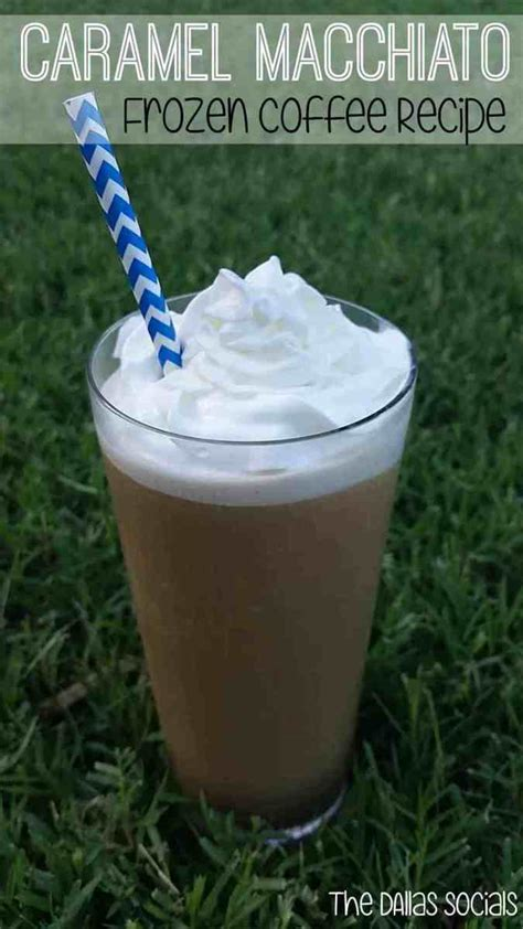 Save your favorite recipes, even recipes from other websites, in one place. Caramel Macchiato Frozen Coffee Recipe