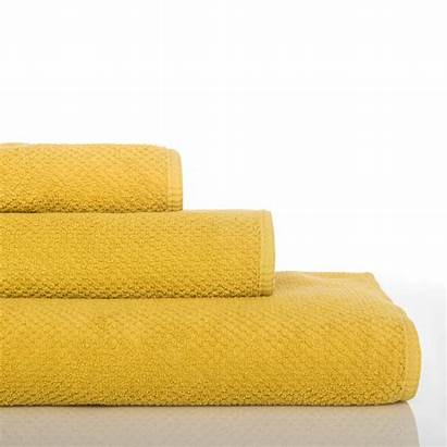 Waffle Bee Towels Mustard Graccioza Towel
