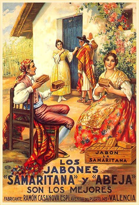 affiche cuisine vintage publicidad vintage costumbrismo español