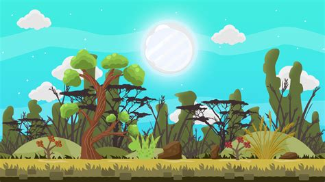 Ecmascript is a primary means of creating animations and interactive user interfaces within svg. FREE 2D GAME FOREST VECTOR BACKGROUND 2 by MarwaMJ