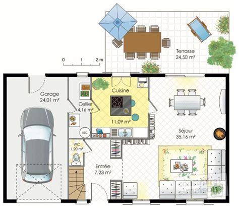plan maison gratuit 4 chambres plan maison etage 4 chambres gratuit amazing maison plain