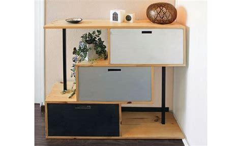 colonne de rangement chambre fabriquer un meuble de rangement pour une entrée
