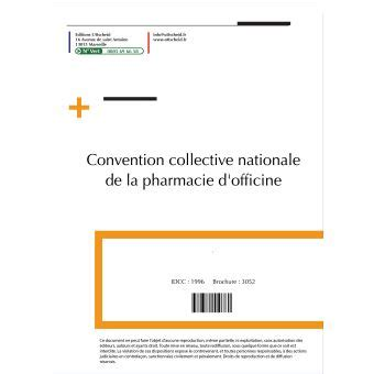 convention collective nationale de la pharmacie dofficine