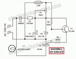 ldr light dependent resistor photoresistor circuit With how compact fluorescent lamps work and how to dim them powerguru