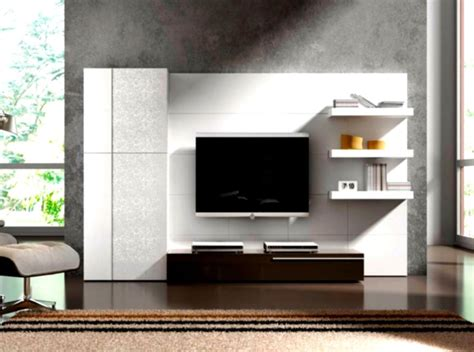 living room design with led tv led tv wall unit design house design and plans
