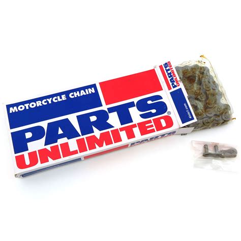 parts unlimited standard motorcycle chain 420 428 520