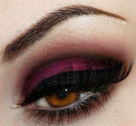 wine eyeshadow    girl hair makeup