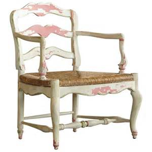 19th century proven 231 ale painted ladder back armchair with