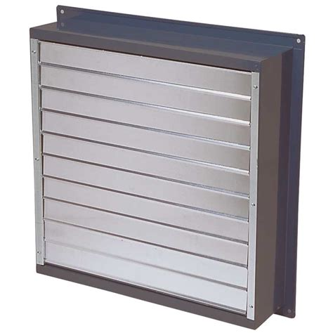 exhaust fan with shutter canarm exhaust fan with aluminum louver shutter 24