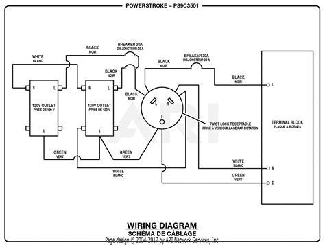 Homelite Psc Powerstroke Watt Generator Parts