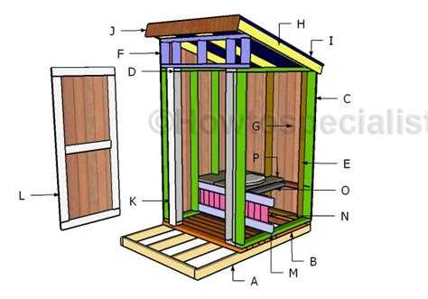 of images outhouse building plans outhouse seat plans howtospecialist how to build step