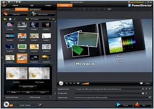 Cyberlink v nero media authoring suites o the register for Powerdirector dvd menu templates