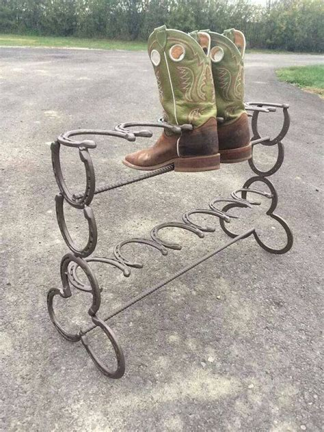 Horseshoe Rack by 5 Horseshoe Boot Rack Ideas Guide Patterns