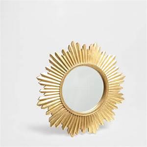 Spiegel Gold Rund : spiegel von zara home ~ Whattoseeinmadrid.com Haus und Dekorationen