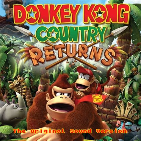 Donkey Kong Country Returns  Original Sound Version Ost