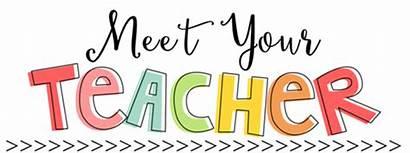 Teacher Meet Teachers Grade Welcome 1st Words