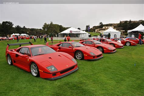F40 Cost by Auction Results And Sales Data For 1991 F40
