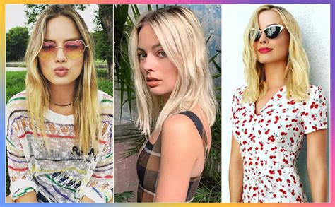 Margot Robbie Sets Hearts Racing With These Quirky Clicks ...