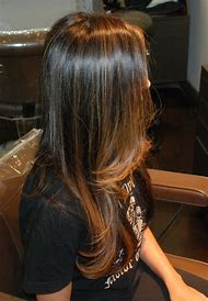 Brunette Hair Color with Highlights